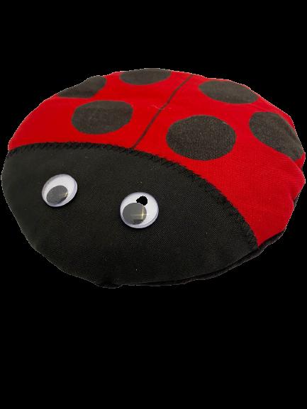 Ladybug heating pouch